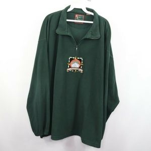 Vintage Mt Everest Spell Out Half Zip Sweater 2XL